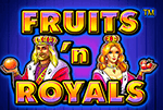 Автоматы Fruits And Royals после входа в Вулкан онлайн